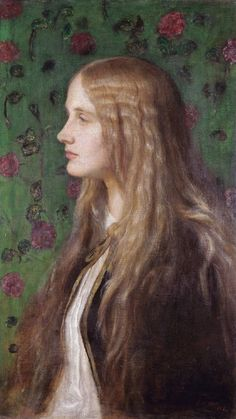 Edith Villiers, later Countess of Lytton by George Frederic Watts