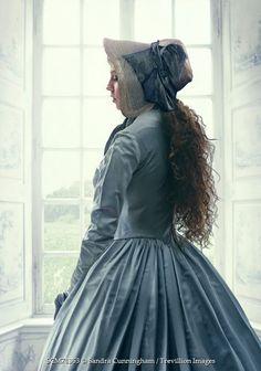 Sandra Cunningham HISTORICAL WOMAN STANDING IN WINDOW Women