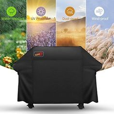 New BBQ Waterproof Gas Charcoal Premium Bbq Cover Extra Large Burner Patio Grill, Bbq Grill, Barbecue, Grilling, Weber Bbq, Gas Grill Covers, Bbq Cover, Clean Grill, Interiors