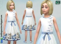 Just for your Sims: Sims 4 - Butterfly Dress