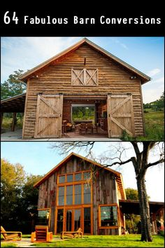 Have a look at these 64 fabulous barn conversions that might just make you want to live in one!