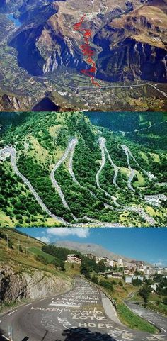 Alp d'Huez. Walked it in 2011. Cycled once while completing entire TDF 2012 route. Cycled twice in 2013 while completing every stage of all 3 grand tours in 2013.
