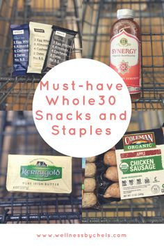 Must Have Healthy Whole30 Approved Snacks and Staples Paleo