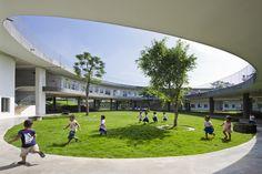 Gallery - Farming Kindergarten / Vo Trong Nghia Architects - 13
