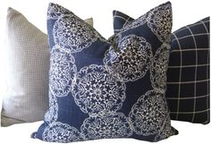 Hey, I found this really awesome Etsy listing at https://www.etsy.com/listing/206656030/indigo-pillow-navy-pillow-danda-indigo