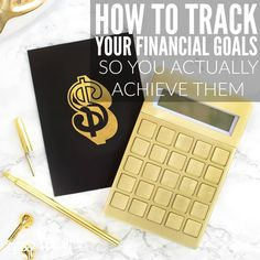 You know you should have financial goals in place and you probably already do, but how to track your financial goals once you've made them? If you don't already have a system for tracking your financial goal progress this may help to give you some ideas! Ways To Save Money, Money Tips, Money Saving Tips, How To Make Money, Managing Money, Financial Goals, Financial Planning, Budget Planer, Finance Organization