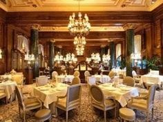 """The Willard Room is located just two blocks from the White House in the Willard InterContinental Hotel, one of Washington, DC's most acclaimed historic hotels. The beautiful dining room is ideal for a power breakfast, business dinner or a special occasion.  We had a  """"Power Breakfast"""" for about 25.00 each. Well worth it.  Once."""