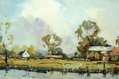 Tutorial of a Hampshire Farm by Edward Wesson and a demonstration from Steve Hall |  Painters Online
