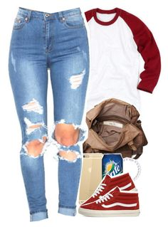 ootdizzle by daisym0nste on Polyvore featuring polyvore, fashion, style, Vans and Friis & Company