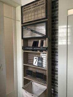 狭い洗面所にオススメ♪セリアのネットを使って家事も楽になるスリムな収納棚の作り方♪|LIMIA (リミア)