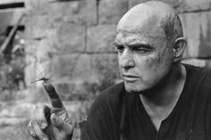 Marlon Brando during the filming of Apocalypse Now by Mary Ellen Mark