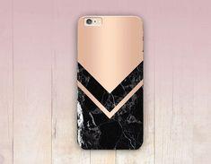 Impression de marbre rose Gold Phone Case - iPhone 6 cas - iPhone 5 - iPhone 4 - Samsung S4 affaire - 5C - Tough Case iPhone - Matte cas