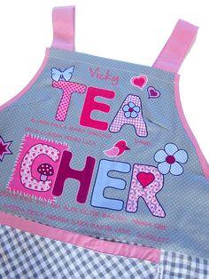 Estola Teacher personalizada con el nombre de la maestra y de sus niños