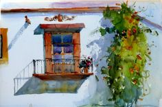 mel stabin watercolors - Google Search