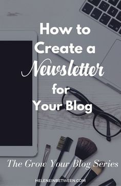 How to Create a Newsletter For Your Blog. The best way to monetize your blog and keep readers coming back in the future is to create an email list. It's the best way to communicate with people, establish credibility, and inform them of what's happening first.  In this post I'm going over: 1. Why you should create an email list 2. Your Newsletter Options 3. How to Create a Newsletter From scratch