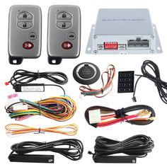 100.00$  Buy now - http://aliun6.worldwells.pw/go.php?t=32364289012 - Car alarm system PKE smart key, touch password entry& power saving remote engine start starter & push start stop button 100.00$