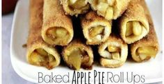 Baked Apple Pie Roll Ups! Super Easy and Even More Delicious
