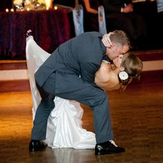 A Dramatic Dip on the Dance Floor