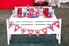 Little Big Company   The Blog: A British Themed 1st Birthday perfect for a Royal Little Prince by Fairy Floss Party and Favours