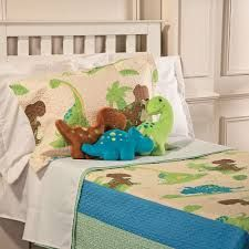 That's How We Rawr Quilt-a-saurus Dinosaur Blanket - Twin - Discontinued Dinosaur Comforter, Dinosaur Blanket, Twin Quilt, Gingham Check, Comforter Sets, Comforters, Kids Room, Toddler Bed, Twins