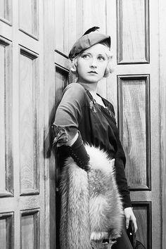 Joan Blondell in The Crowd Roars, 1932.