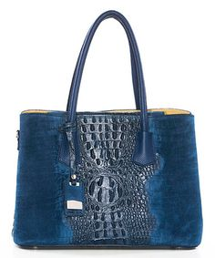 Another great find on #zulily! Blu Reptile Leather Satchel #zulilyfinds