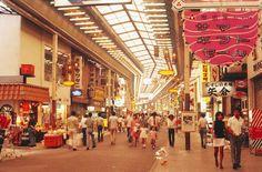 昭和48年当時の元町商店街(神戸市)(1973年08月撮影) 【時事通信社】