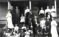 The McCormack family reunion held at William E. McCormack's house in Otter Lake, Michigan