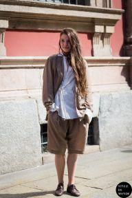 STYLE DU MONDE / Milan Men's SS16 Street Style: Florence Provencher-Proulx  // #Fashion, #FashionBlog, #FashionBlogger, #Ootd, #OutfitOfTheDay, #StreetStyle, #Style