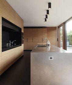 amazing modern kitchen ideas you will love 00014 Kitchen Dinning, Home Decor Kitchen, Home Kitchens, Kitchen Ideas, Modern Kitchen Design, Interior Design Kitchen, Kitchen Designs, Minimalist Kitchen, Cuisines Design