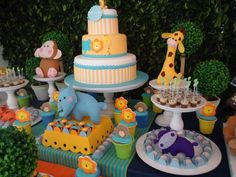 Image detail for -Zoo Table Birthday Party Decoration | Tips Kids Party - Ideas, Themes ...