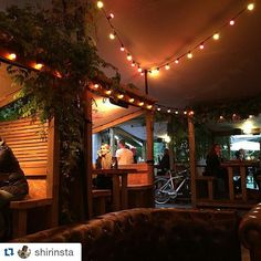 #Repost @shirinsta with @repostapp  Right that's it no more complaints from me about Homerton! This is my local on a Sunday night with live music in the garden #peoplesparktavern #homerton #london #victoriapark #feelslikechristmas by peoplesparktavern