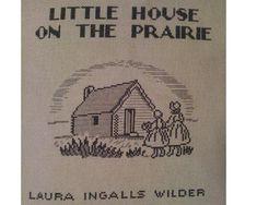 Little House on the Prairie Cross-stitch Pattern. $5.00, via Etsy.