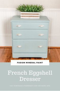 Fusion Mineral Paint's French Eggshell • Robyn's Southern Nest Chalk Paint Techniques, Eggshell Paint, Paint Furniture, Furniture Refinishing, Favorite Paint Colors, Paint Supplies, Happy Paintings, Mineral Paint, Heart Decorations