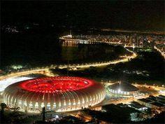 See photos, tips, similar places specials, and more at Estadio Beira Rio Porto Alegre Sc Internacional, Rio, Cristina, Sports Clubs, Amazing Pictures, See Photo, Four Square, Brazil, Places