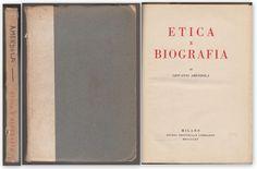 GIOVANNI AMENDOLA ETICA E BIOGRAFIA MILANO STUDIO ED. LOMBARDO 1915-O339B