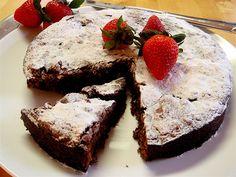 Flourless Chocolate – Almond Cake