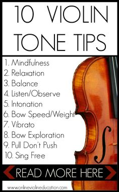 10 Gorgeous Violin Tone Tips Online Violin Education