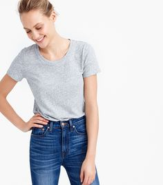 The Only 5 T-Shirts Worth Buying, According to a Stylist via @WhoWhatWearUK