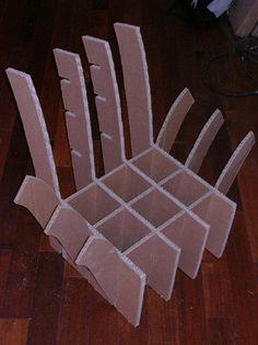 1000 images about meuble en carton on pinterest cardboard furniture diy cardboard and - Tutoriel meuble en carton ...
