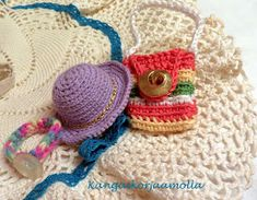 Virkkaa barbille asusteita Sewing Barbie Clothes, Crochet Necklace, Crochet Hats, Fashion, Knitting Hats, Moda, Fashion Styles, Fashion Illustrations