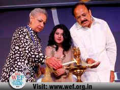 """Women Economic Forum 2016 started with fantastic and energizing speech of Dr. Harbeen Arora, Global Chairperson of ALL Ladies League and WEF. She stated that """"Women Uplifiting and Uniting the World is not her individual vision. It has come from all of you to unite humanity. To learn more about Women Economic Forum, please check:http://www.wef.org.in/"""