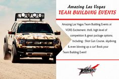 Amazing Las Vegas Team Building Events  -  Amazing Las Vegas Team Building Events at VORE-Excitement, thrill, high level of competition & great package options.  Including: Shot Gun Course, skydiving & even blowing up a car! Book your Team Building Event! http://www.vore.com/corporate-events.html