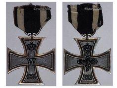 Germany WW1 Military Medal Iron Cross 2nd Class EK2 Maker Z Decoration Merit 1914 1918 Kaiser Prussia Award