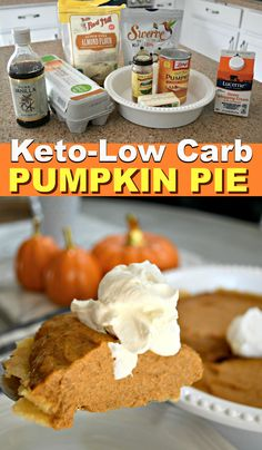 Hungry for Dessert? Bake This Easy Keto Pumpkin Pie!