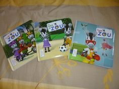 Zou 3 albums (Le velo de Zou,Le match de Zou,Super Zou)- Larousse - Les lectures de Liyah,des 3ans