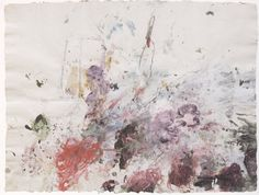 """ Cy Twombly - Scenes from an Ideal Marriage (1986) - Acrylic and pencil on paper """