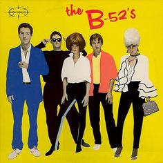 Possibly the only great B-52s album, but man is it ever awesome. Plus the cover kicks ass.