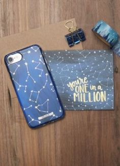 00024b369dbc Constellations from the OneCanoeTwo x Incipio Case Collection. Let It  Shine