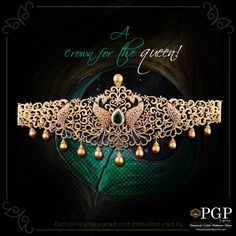 Flaunt the empress in you with a stunning jewellery!  For any queries regarding the price of the jewellery or otherwise, email us at query@pgpgroups.com